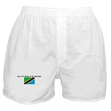HALF MY HEART IS IN TANZANIA Boxer Shorts