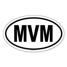 MVM Oval Decal