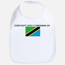 EVERYBODY LOVES A TANZANIAN G Bib