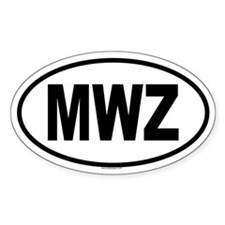 MWZ Oval Decal