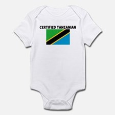 CERTIFIED TANZANIAN Infant Bodysuit