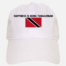 HAPPINESS IS BEING TOBAGONIAN Baseball Baseball Cap