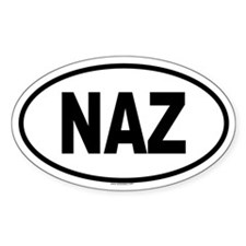 NAZ Oval Decal