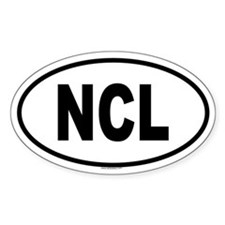 NCL Oval Decal