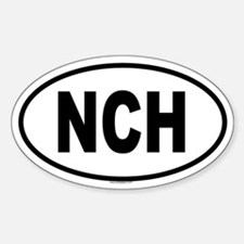 NCH Oval Decal