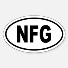 NFG Oval Decal