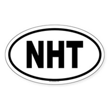NHT Oval Decal