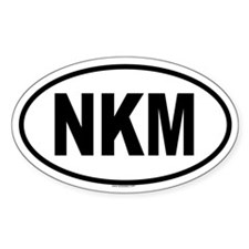 NKM Oval Decal
