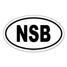 NSB Oval Decal