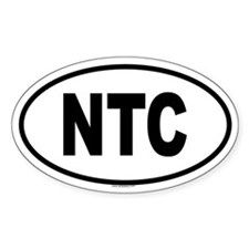 NTC Oval Decal
