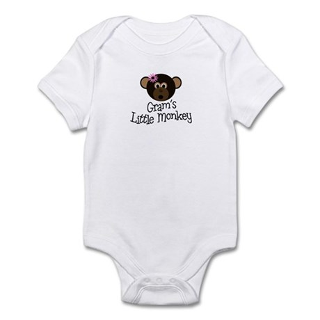 Gram's Little Monkey GIRL Infant Bodysuit
