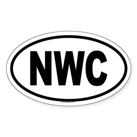NWC Oval Sticker
