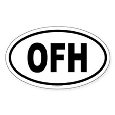 OFH Oval Decal