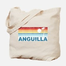 Palm Tree Anguilla Tote Bag