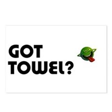 Got Towel? Postcards (Package of 8)