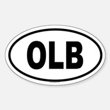 OLB Oval Decal