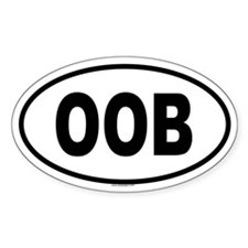 OOB Oval Decal
