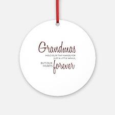 Forever Grandma Ornament (Round)