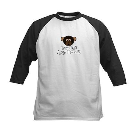 Grammy's Little Monkey BOY Kids Baseball Jersey
