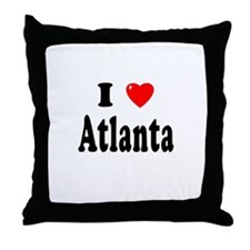 ATLANTA Throw Pillow