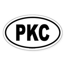 PKC Oval Decal