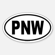 PNW Oval Decal