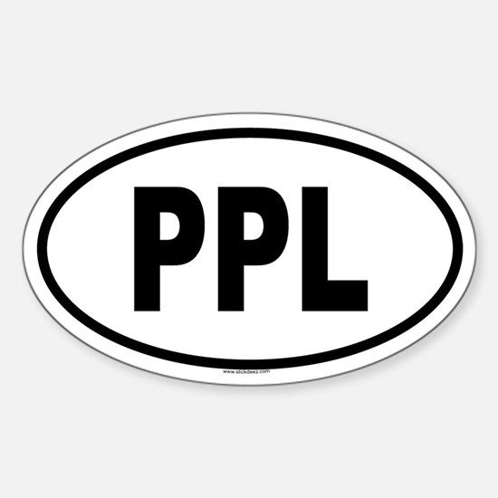 PPL Oval Decal