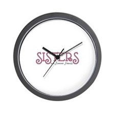 Forever Sisters Wall Clock