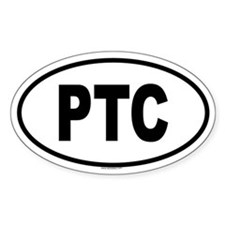 PTC Oval Decal
