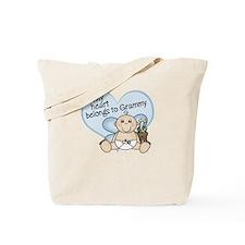 My Heart Belongs to Grammy BO Tote Bag