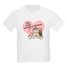 My Heart Belongs to Grammy GI T-Shirt