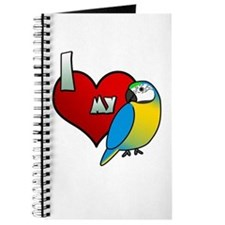 I Love My Blue & Gold Macaw Journal