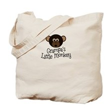 Grampa's Little Monkey BOY Tote Bag