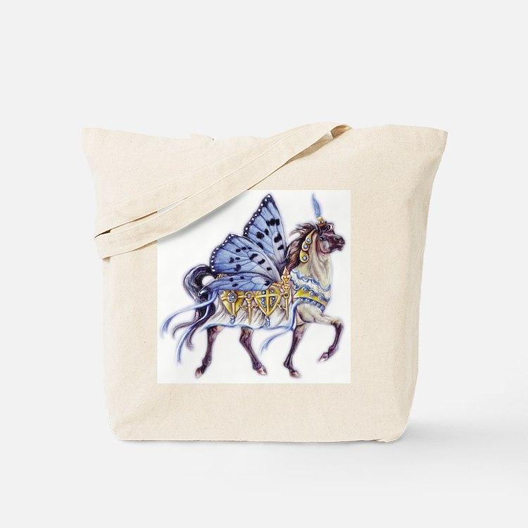 Sapphire & Ivory Tote Bag