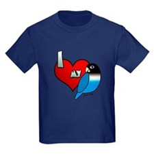 Love Blue Black Masked Lovebird T