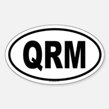 QRM Oval Decal