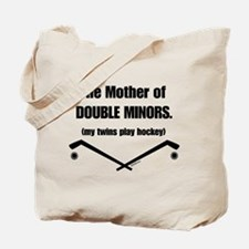 double minor Tote Bag