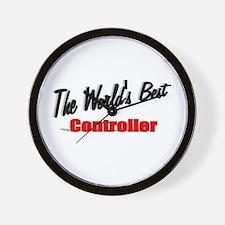 """The World's Best Controller"" Wall Clock"