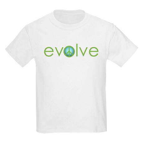 Evolve - Peace Kids Light T-Shirt
