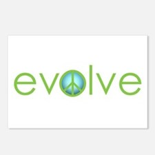 Evolve - Peace Postcards (Package of 8)