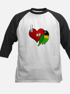Love Black Masked Lovebird Tee