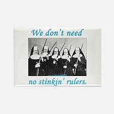 Nuns w/Guns Rectangle Magnet