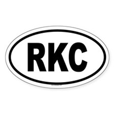 RKC Oval Decal