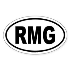 RMG Oval Decal