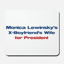 Monica's X -  Mousepad