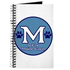 M is for Maine Coon Journal