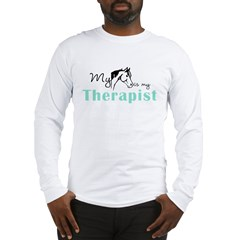 Horse Therapist Equestrian Long Sleeve T-Shirt
