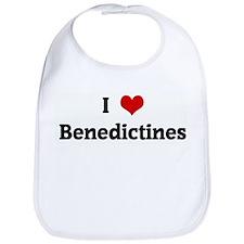 I Love Benedictines Bib