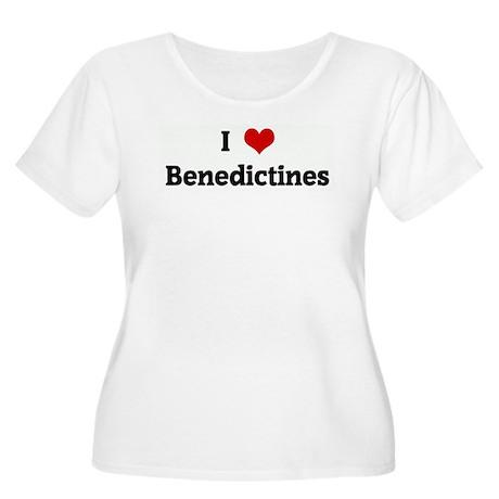 I Love Benedictines Women's Plus Size Scoop Neck T