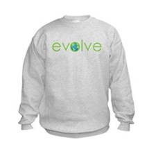 Evolve - planet earth Sweatshirt